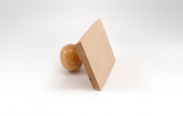 Pieczątki na uchwytach drewnianych