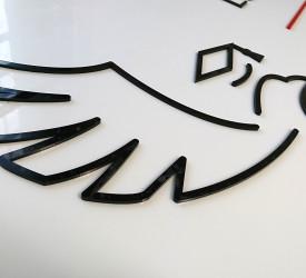 Logo przestrzenne na dystansach