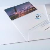 Projekt graficzny i druk teczki i folderu