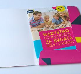 Przygotowanie graficzne i druk teczki i katalogu